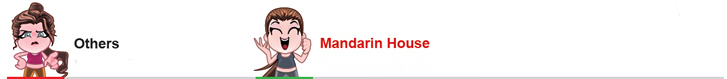 The Mandarin House DIFFERENCE
